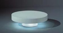 Skifv Low IP44 soevalge LED 6x1W, must