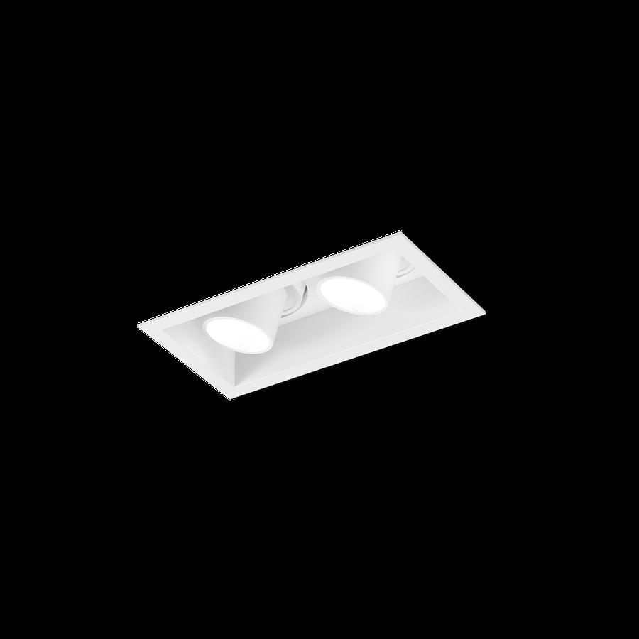 Sneak Trim 2.0 LED 2x7/10W 2700K 90CRI 350-500mA , Valge