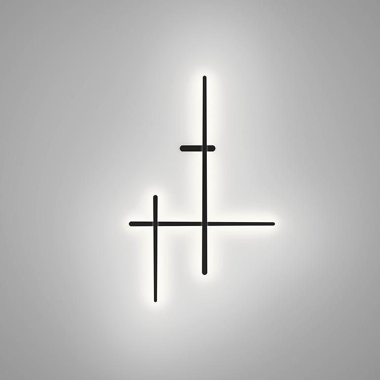 Seinavalgusti Sparks LED 34,8W 3670lm 2700K, DIM 1-10V ja push-dim, RAL7016