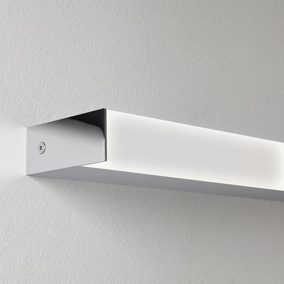 Sparta 600 LED 11,5W 584lm 3000K IP44 vannitoavalgusti, poleeritud kroom