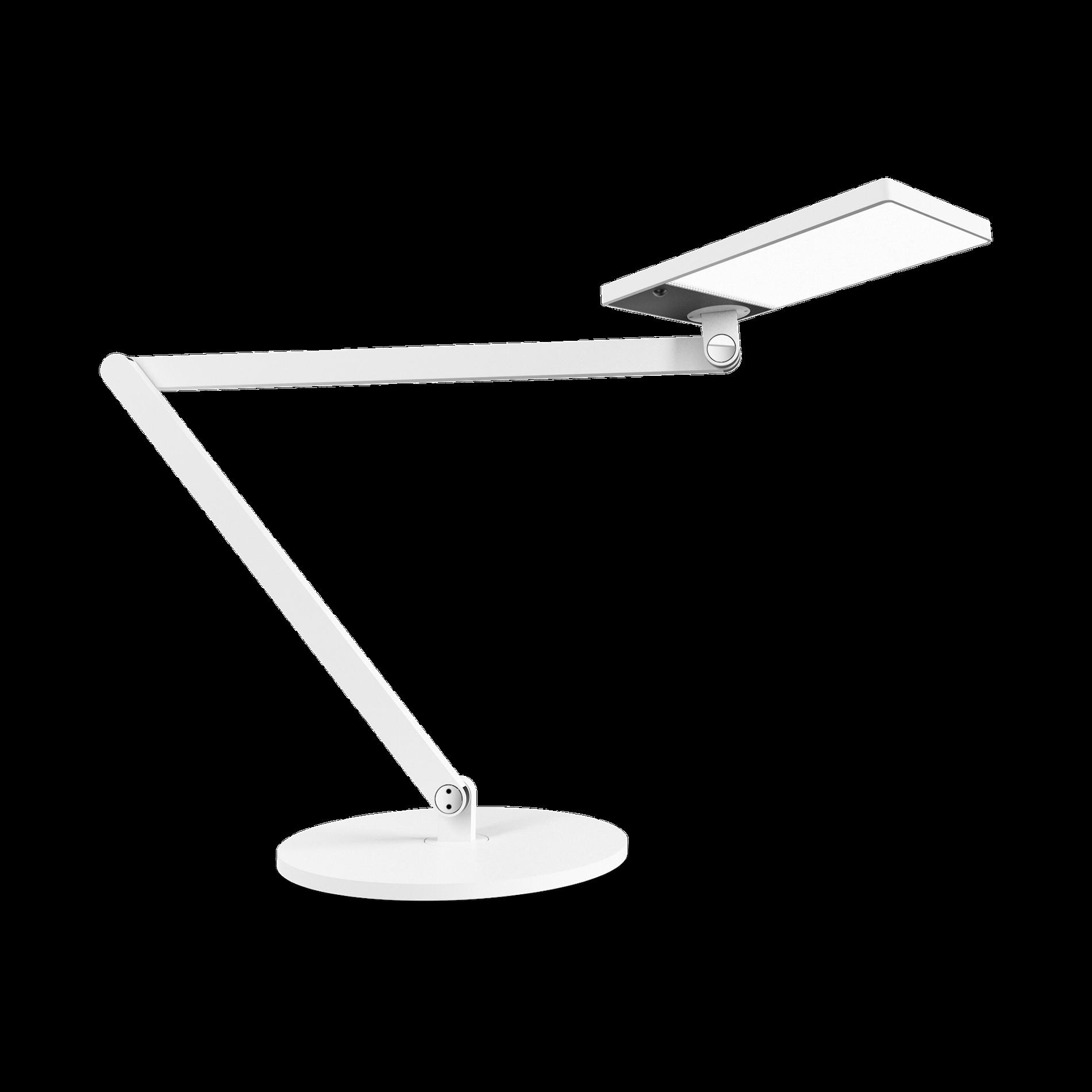 Task Table LED 11W 1030lm 3000K touch DIM lüliti ja liikumis sensoriga; USB pesa; alumiinium, valge
