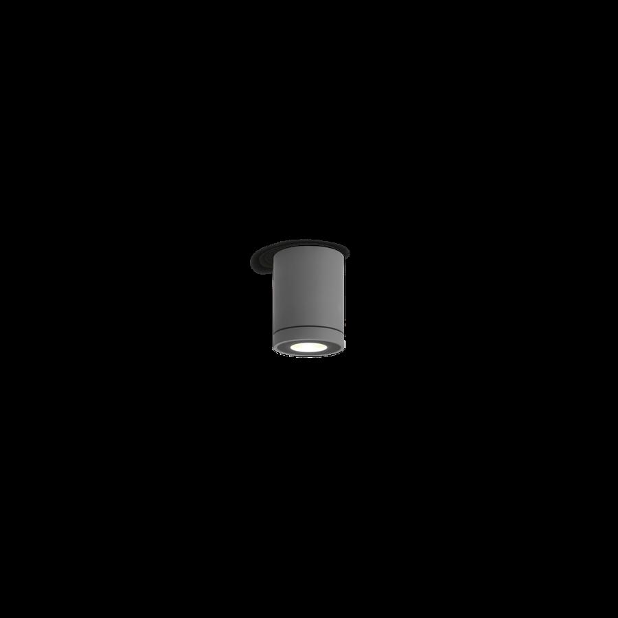 Välisvalgusti TUBE 1.0 LED 8W 440lm 3000K CRI>80 IP65, hämardatav, tumehall