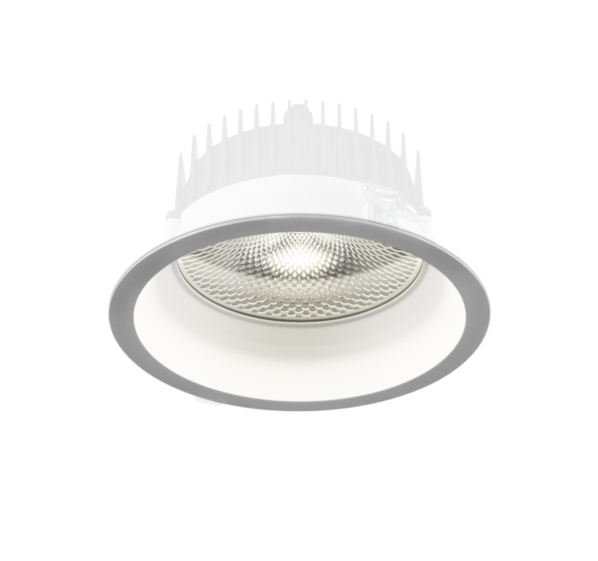 Süvisvalgusti TURE LED 14.2W 1870lm 3000K, IP54, alumiinium, valge