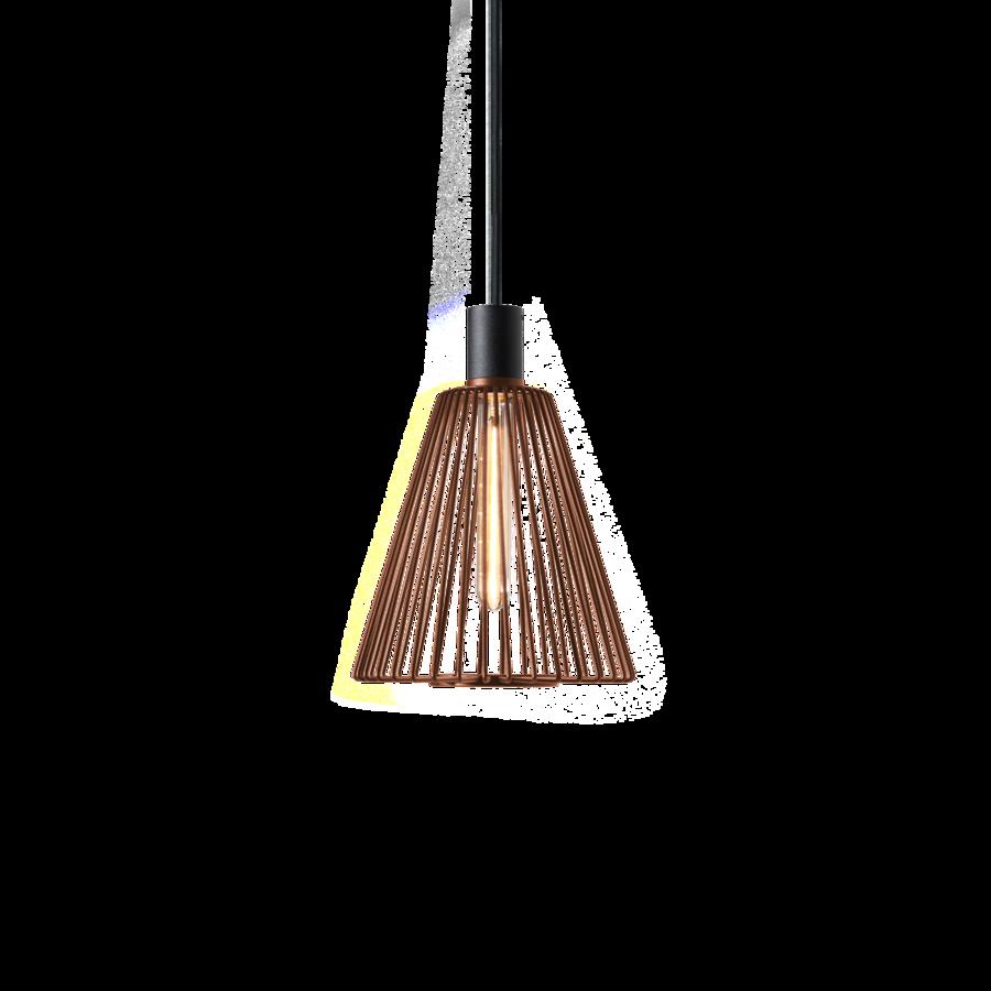 WIRO CONE 1.0 Max 60W T30 E27 IP20 rippvalgusti, roostevärvi, ilma riputita (tellida eraldi)