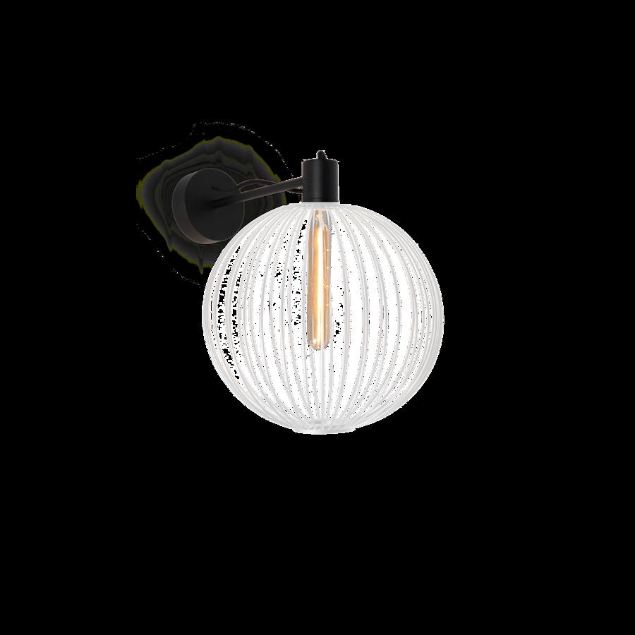 WIRO WALL GLOBE 1.0 Max 60W T30 E27 IP20 seinavalgusti, valge