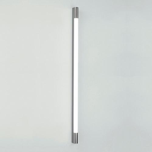 Palermo 1200 1X28W T5, niiskuskindel vannitoavalgusti, poleeritud kroom/polükarbonaat hajutiga, ilma lülitita