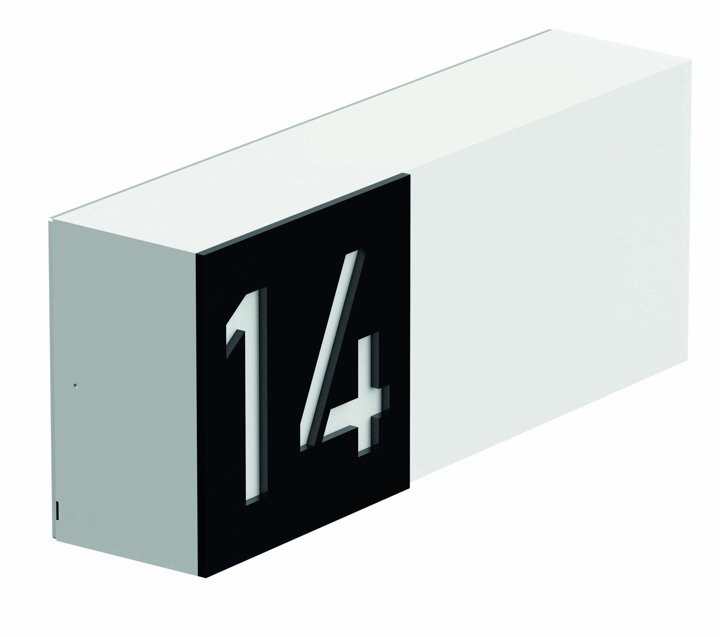 Välisvalgusti ART 100 CODE, LED 10W 484lm 3000K IP66 IK10, antratsiit