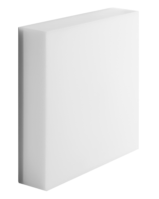 Välisvalgusti ART 250, LED 20W 1656lm 3000K IP66 IK10, polükarbonaat, valge