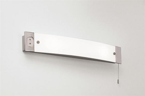 Shaver Light 2x40W E14 IP20, seinavalgusti, nöörlüliti + pistik, valgusallikas ei kuulu komplekti