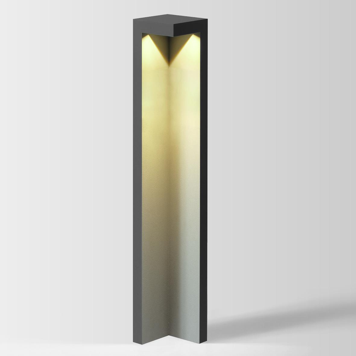EDGE 8.0 LED 3000K DIM tumehall 8W 80 220-240VAC, välisvalgusti pollar