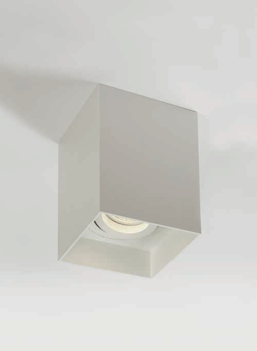 Pinnapealne kohtvalgusti Honos max 10W GU10, valge, 90x90mm h=115mm