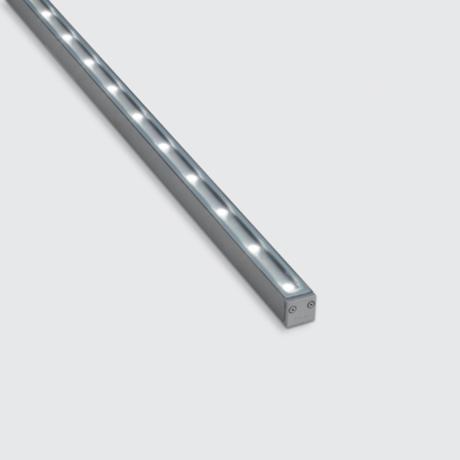 Linealuce Mini 7,8W LED 420lm 24VDC L=1056mm asümm. optika 2-3m, välisvalgusti fassaadile