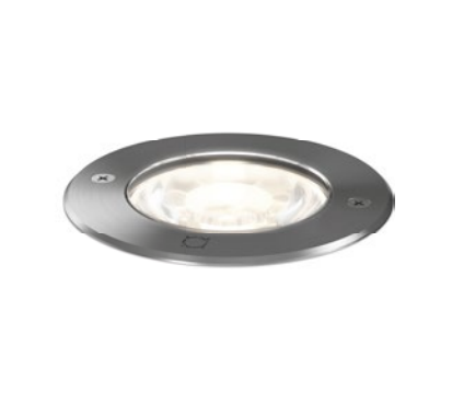 MAP 1.2 LED 3000K DIM INOX 9W 80CRI 220-240VAC