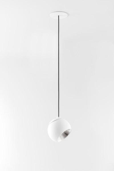 Rippvalgusti Marbul LED 9,3W LED 715lm 2700K 40° CRI90, valge, suunatav