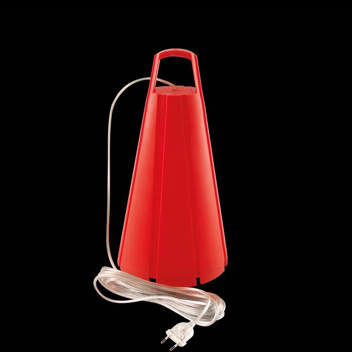 Miss 6 23W E27, punane, komplektis kaabel 6m ja pistik