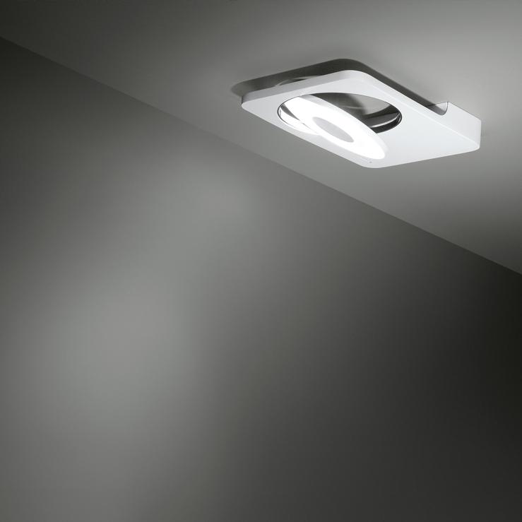 Spock foot LED <1200lm lae/seinakinnitus, soevalge, lai vihk, valge