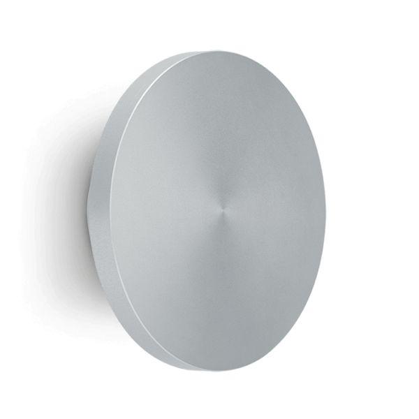 Välis-seinavalgusti Pik 160 Wall LED 9W 741lm 3000K IP65 anodeeritud alumiinium, helehall