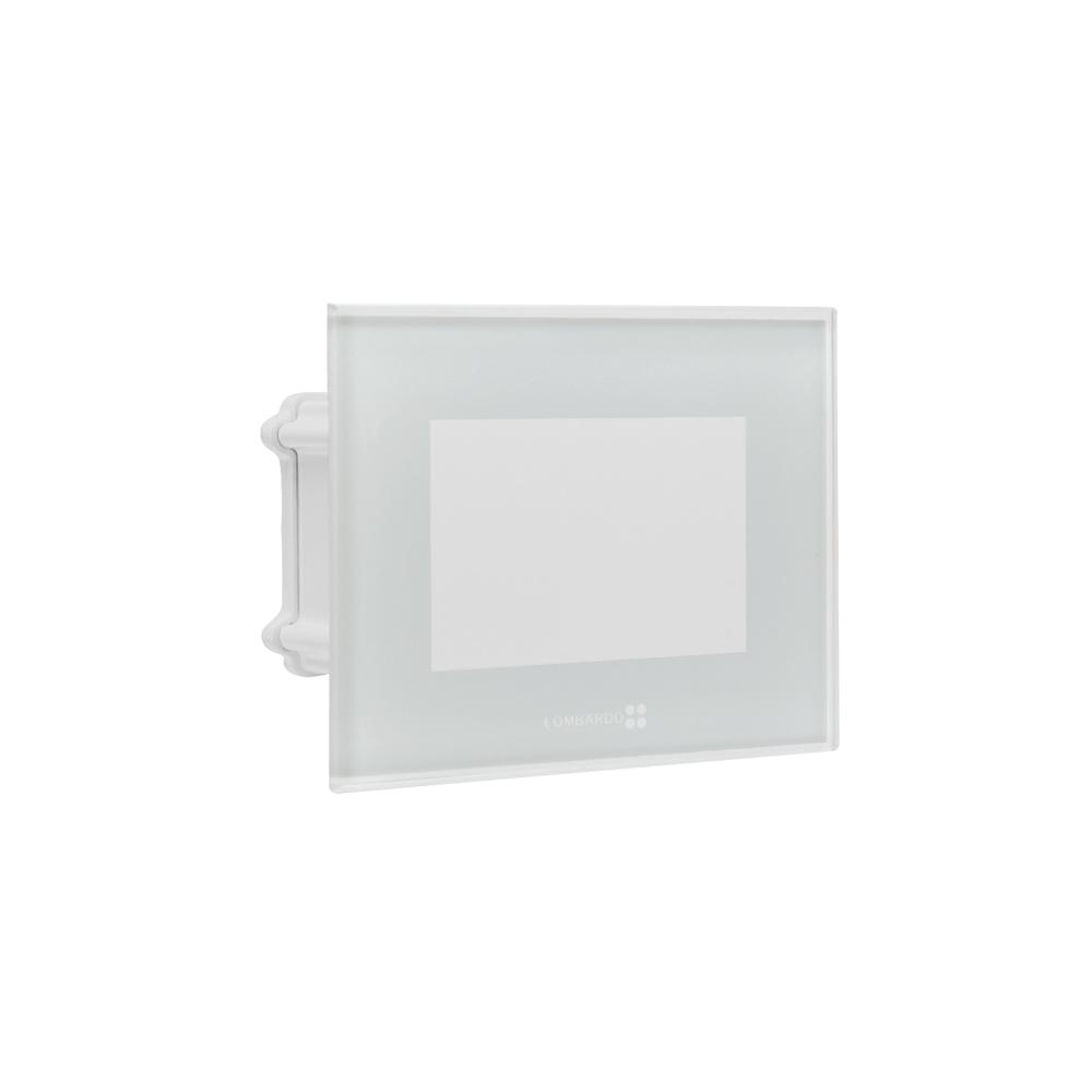 Seina süvisvalgusti STILE NEXT 103 LED 3W 3000K; alumiinium / karastatud klaas, valge