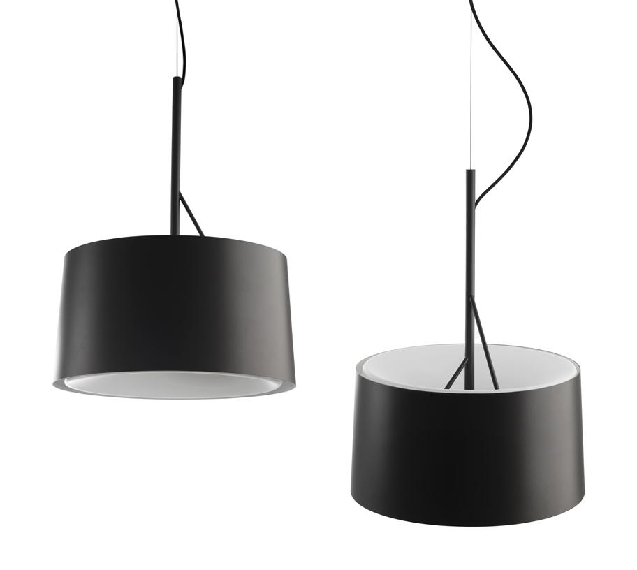 Rippvalgusti Eda t Graphite, LED 60W, grafiit-hall